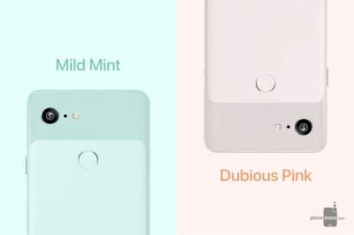 Google Pixel 3 может стать розовым