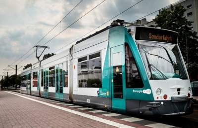 В Германии испытали беспилотный трамвай