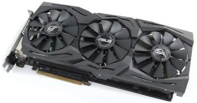 ASUS готовит видеокарту ROG Strix Radeon RX 590 Gaming