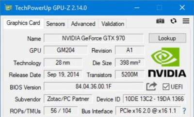 Вышла новая версия утилиты GPU-Z