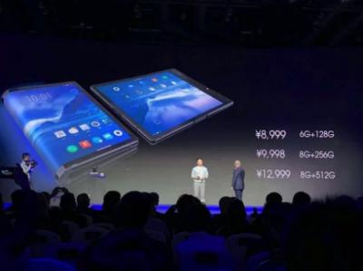 Китайская компания представил первый в мире гибкий смартфон