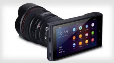 Китайцы представили беззеркальную камеру