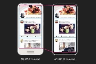 Японцы представили оригинальный смартфон с двумя вырезами