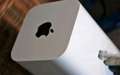 Apple перестала продавать роутеры AirPort