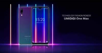 Umidigi One Max получил беспроводную зарядку