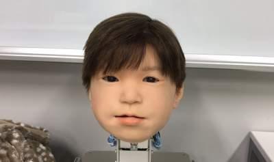 В Японии показали андроида-ребенка