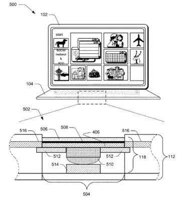 Microsoft изобрела тонкую клавиатуру для нового планшета