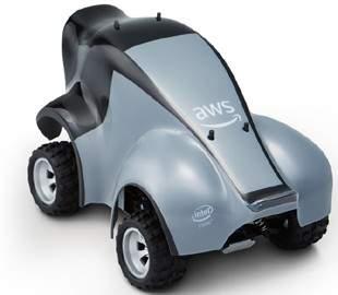 Amazon выпустит игрушечный робомобиль