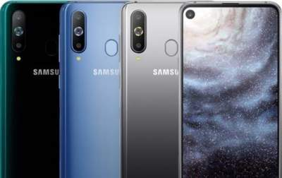 Samsung показала смартфон с круглым вырезом под фронтальную камеру