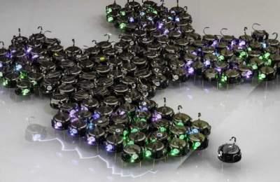 Новый рой автономных роботов может работать как единый организм