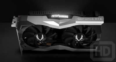 Появились изображения видеокарт Zotac GeForce RTX 2060 AMP! и Twin Fan