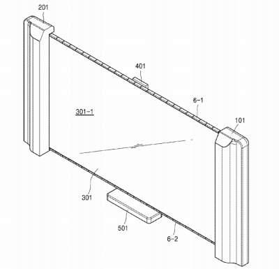 Samsung запатентовала телевизор с уникальным экраном