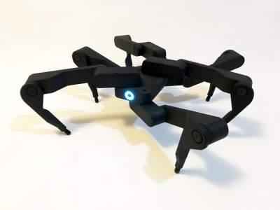 В Китае создали необычного робота-паука