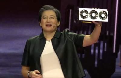 AMD презентовала новую видеокарту Radeon VII