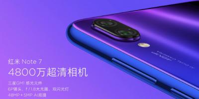 Redmi Note 7: представлен первый смартфон отдельного бренда