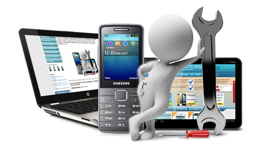 Сеть сервисных центров по ремонту мобильных устройств